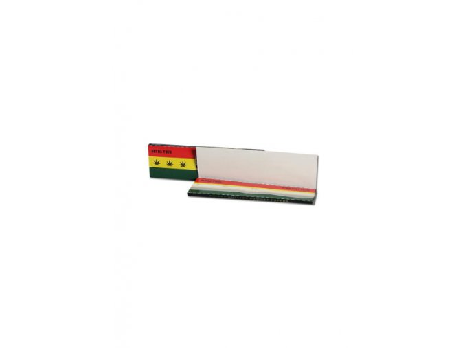 Breit Rasta Unbleached King Size Space Stoners