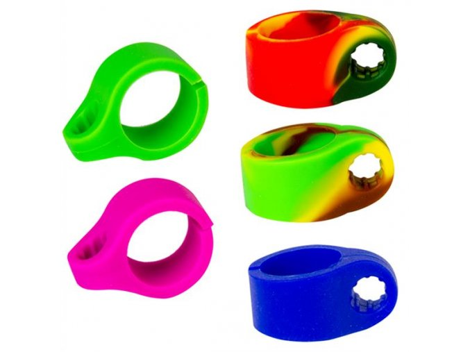 Silikonový držák Weed Ring