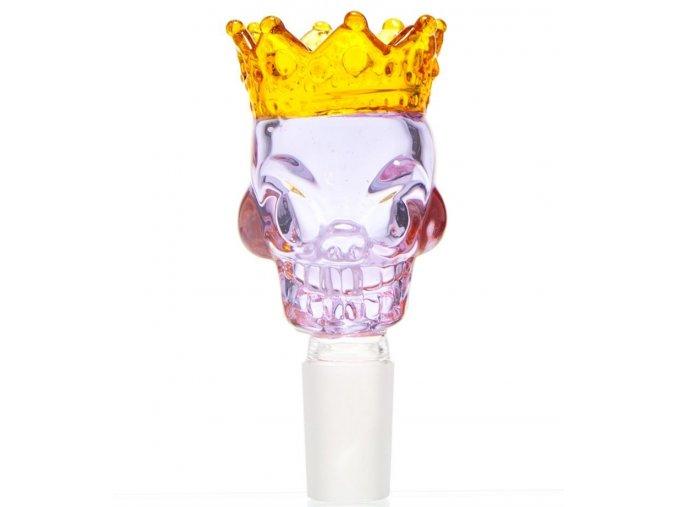 Skleněný kotel Grace King Skull