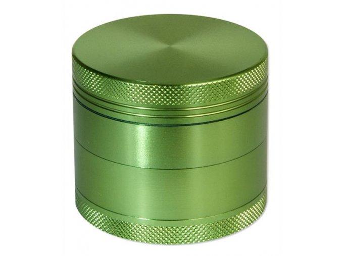 Kovová čtyřdílná drtička Rotor Green