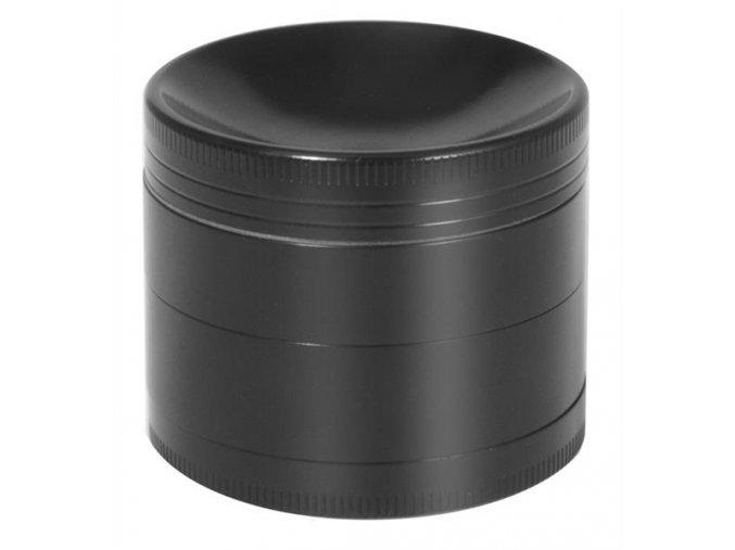 Kovová čtyřdílná drtička Black Concave