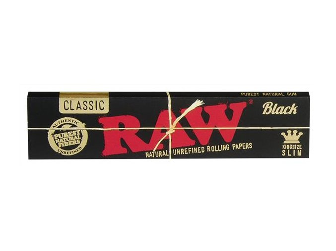 RAW Papers Black Edition King Size