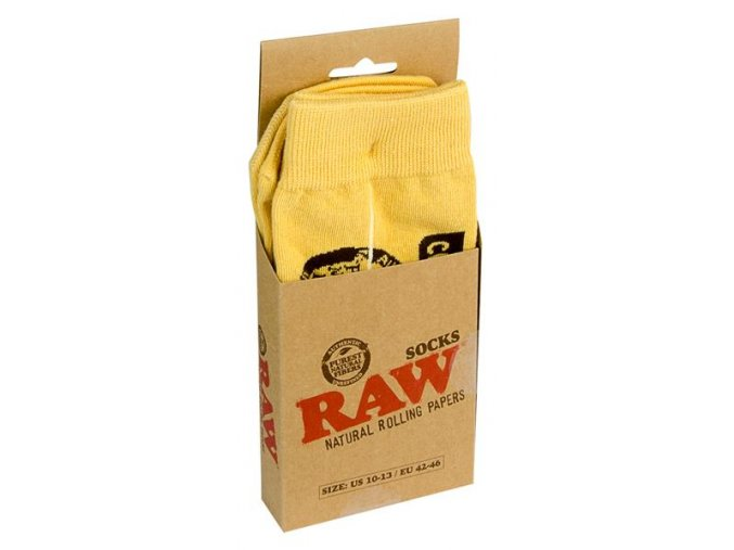 Bavlněné Raw Papers Socks EU 42-46