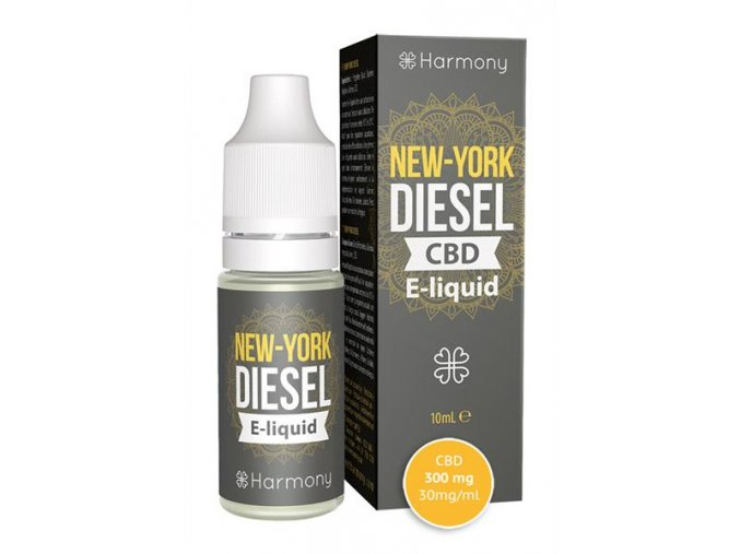 E-Liquid Harmony CBD 10 % New York Diesel