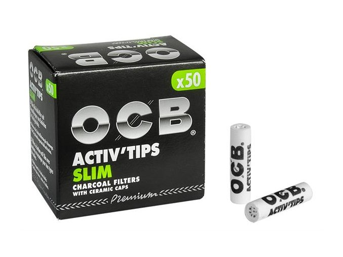 Uhlíkové filtry OCB Filters Slim 50