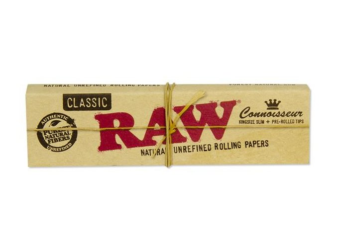 RAW Classic Connoisseuir Prerolled Tips