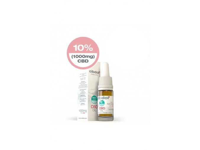 Cibdol CBD Olej 10% 10 ml