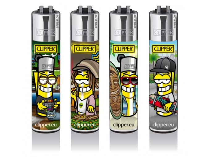 Zapalovač CLIPPER ® CP11RH Clipperman Subcultures