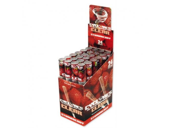 cyclone clear strawberry flavour