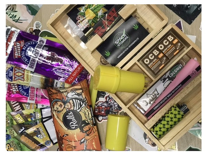 Special Space Stoners Wooden Box Pack