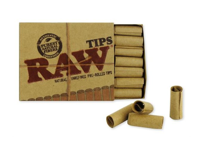 RAW Papers Prerolled Filter Tips