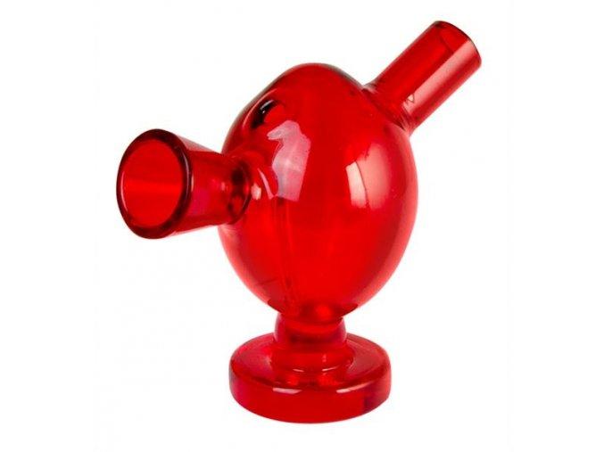 Skleněný Blunt Bubbler Atomic 5 mm Red