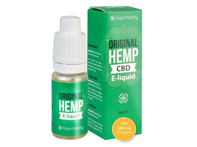E-Liquid Harmony CBD 10 % Hemp Edition