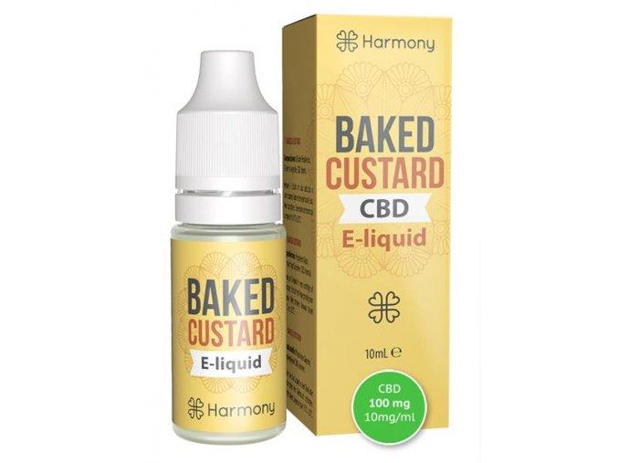 E-Liquid Harmony CBD 10 % Baked Custard