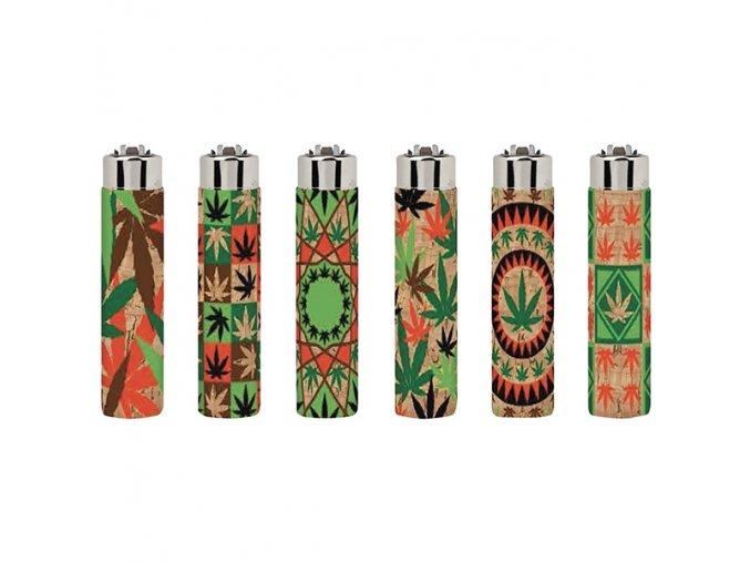 Korkový zapalovač CLIPPER ® Leaves 2