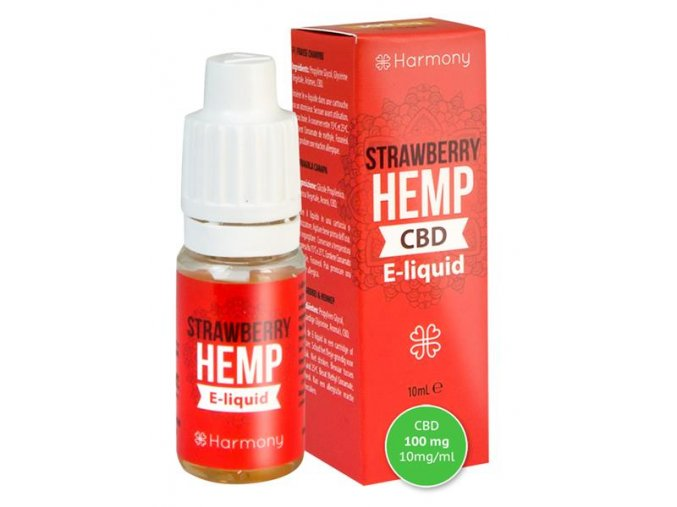 E-Liquid Harmony CBD 10 % Strawberry