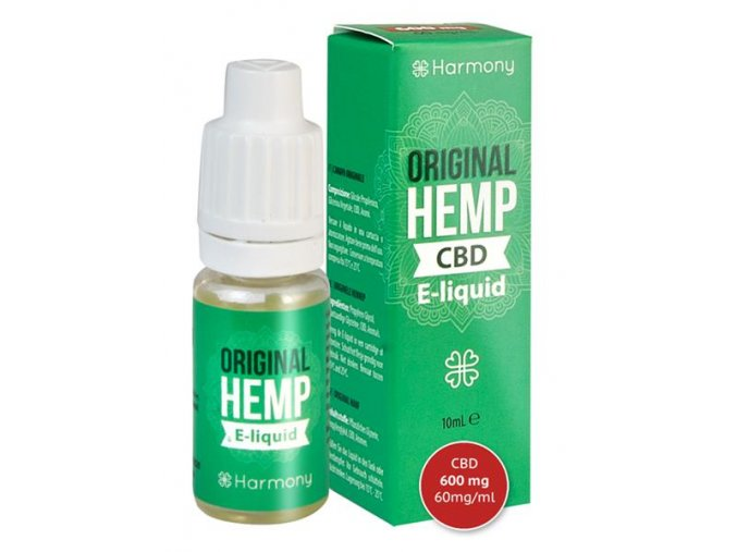 E-Liquid Harmony CBD 600 mg Hemp Original