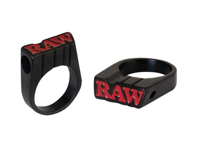 Zlatý prsten Raw Black Edition Ring Size 10