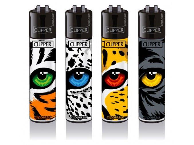 Zapalovač CLIPPER ® CP11RH Feline Eyes