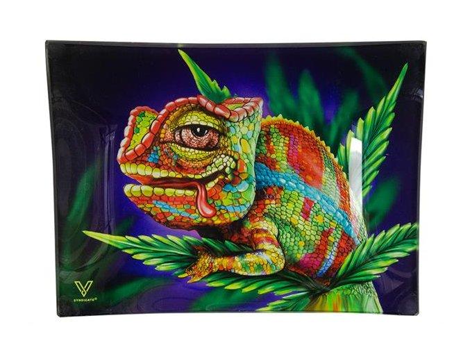 Skleněná balící podložka Syndicate Stoned Chameleon Mini