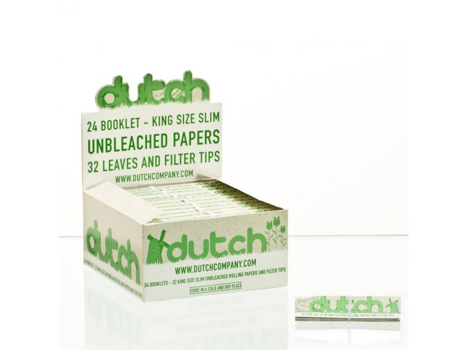 Dutch Papers Hemp Premium Long + filtry