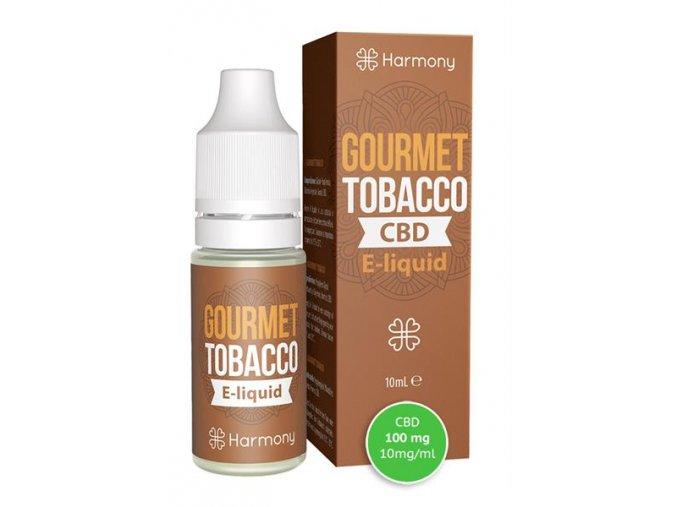 E-Liquid Harmony CBD 100 mg Gourmet Tobacco