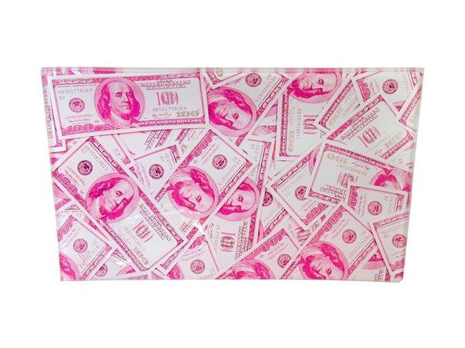 Skleněná balící podložka Syndicate Benjamins Dollars Medium