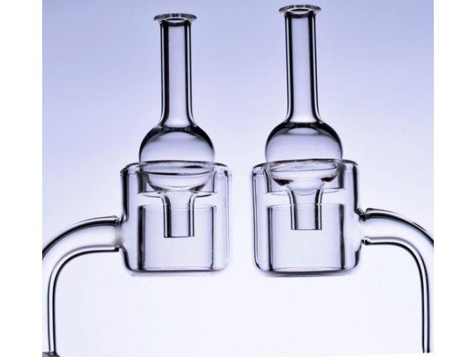 Skleněný Oil Banger Quartz Double Set 4 mm
