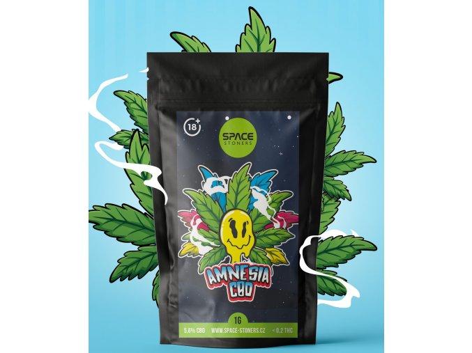 CBD Weed Space Stoners Amnesia CBD 6 % 1 G