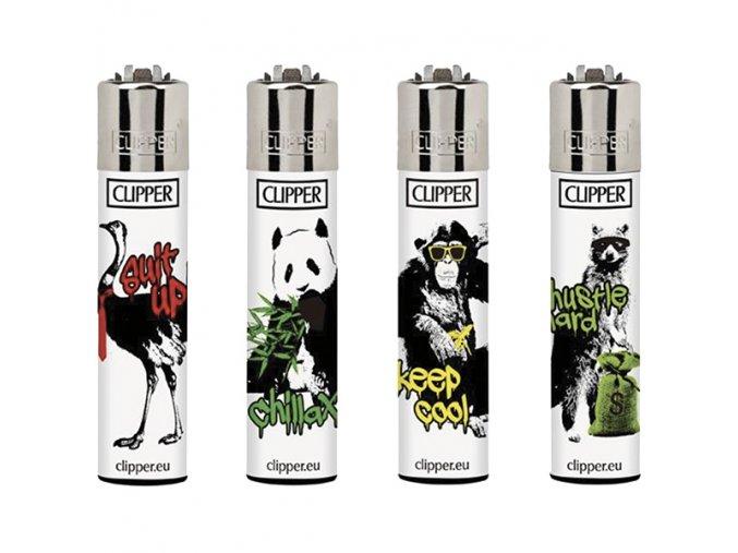 Zapalovač CLIPPER ® CP11RH Streetart Animals