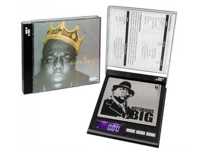Digitální váha Infyniti CD Notorious B.I.G Digital 0,01/100 g