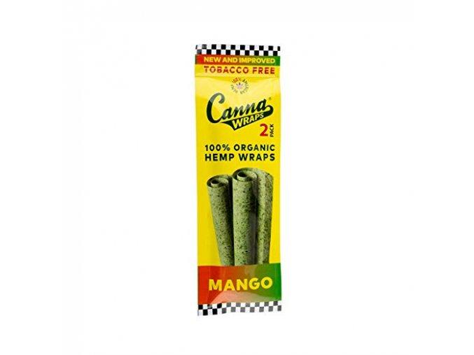 Konopné blunty Canna USA Organic Wraps Terpene Mango