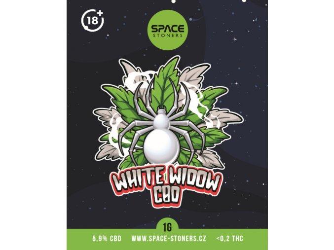 CBD Weed Space Stoners White Widow CBD 6 % 1 G