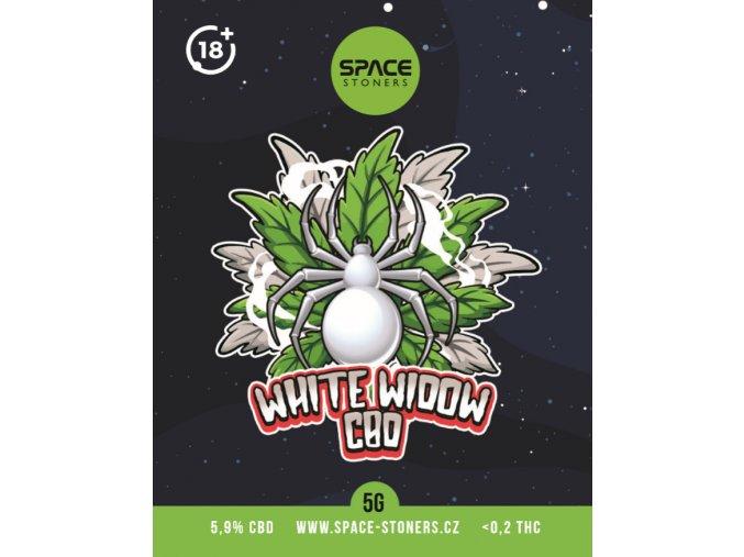 CBD Weed Space Stoners White Widow CBD 6 % 5 G