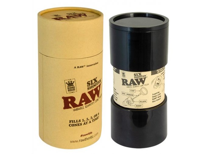 RAW Papers Six Shooter Cone Filler