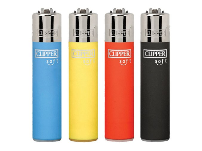 Zapalovač CLIPPER ® CP11RH Soft Touch Color