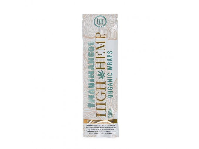Konopné blunty High Hemp Organic +CBD Maui Mango