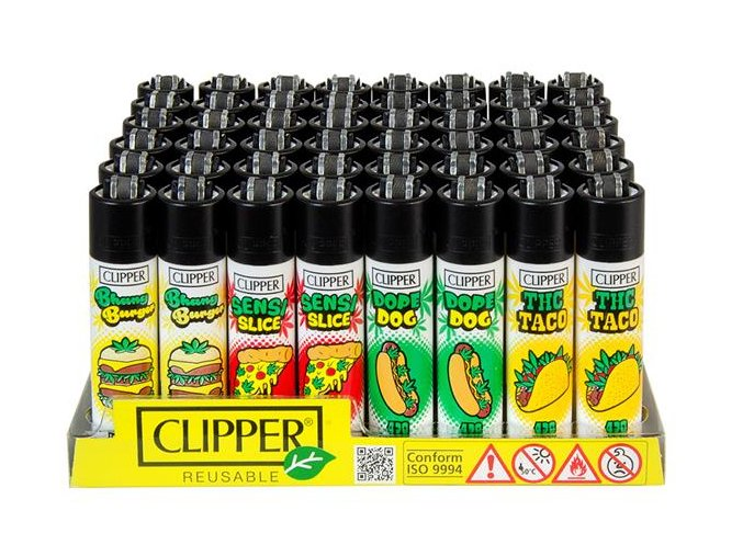 Zapalovač CLIPPER ® CP11RH 420 Junk Food