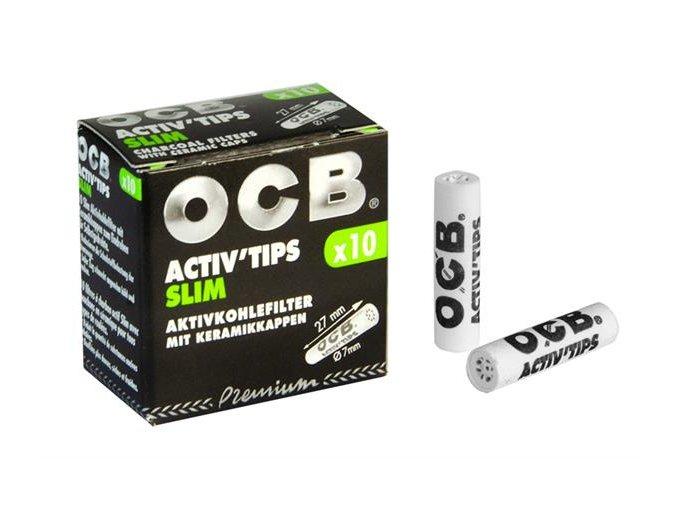 Uhlíkové filtry OCB Filters Slim 3Pack