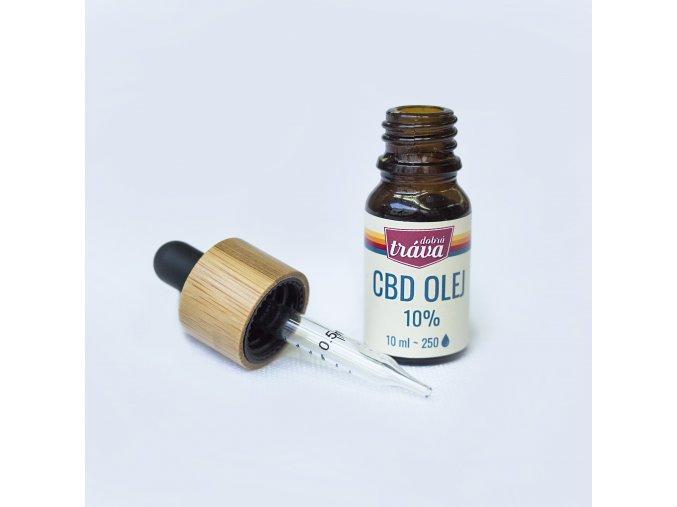 Dobrá Tráva CBD Olej Olivový 10 % 10 ml