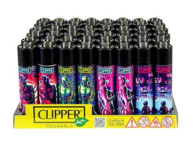 Zapalovač CLIPPER ® CP11RH 420 Cybernetics