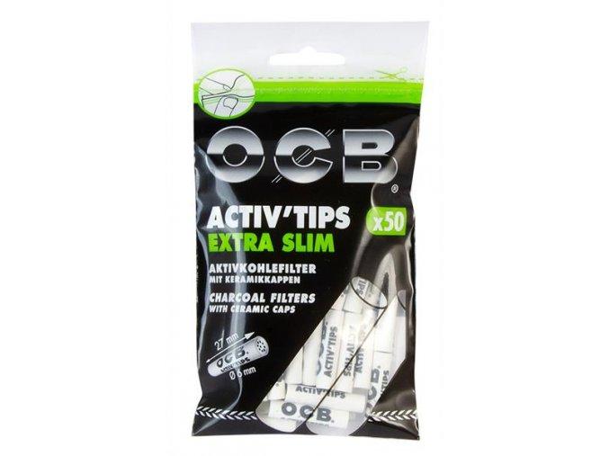 Uhlíkové filtry OCB Filters Slim 50 6 mm