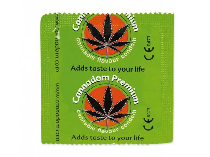 Konopné kondomy Cannadom Hemp