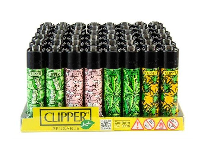 Zapalovač CLIPPER ® CP11RH Mix Pattern Weed