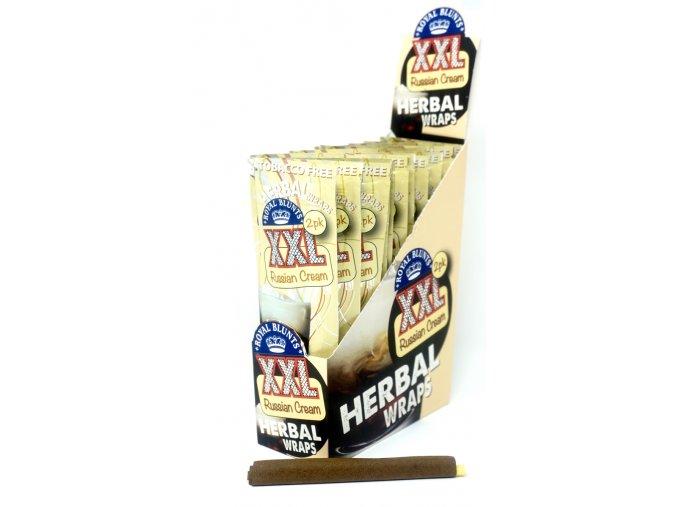 Konopné blunty Royal Hemparillo Russian Cream XXL 2Pack