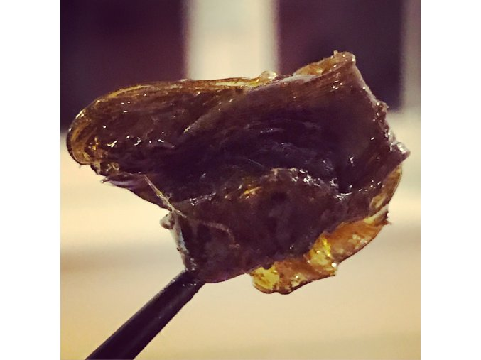Space Stoners CBD Extract Rosin 41 % Amnesia Haze 0,5 g