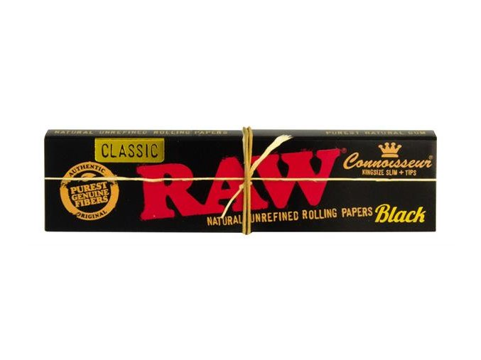 RAW Classic Black Edition Connoisseuir King size