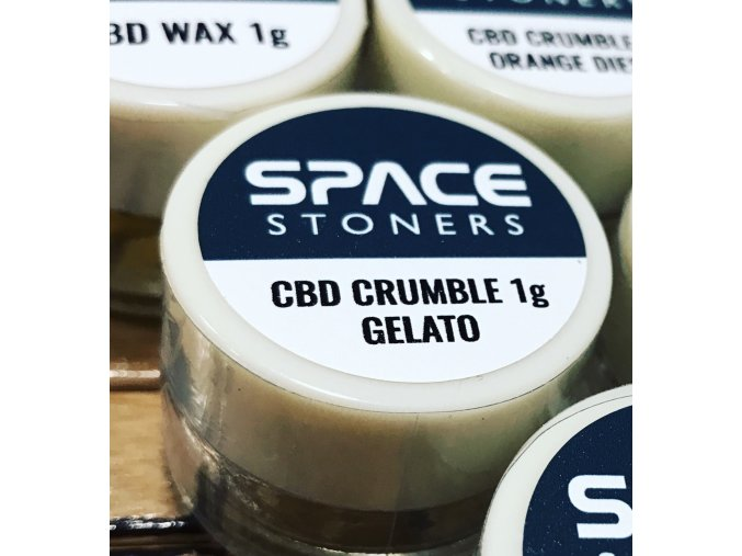 Space Stoners CBD Extract Crumble Gelato USA 96 % 1 g