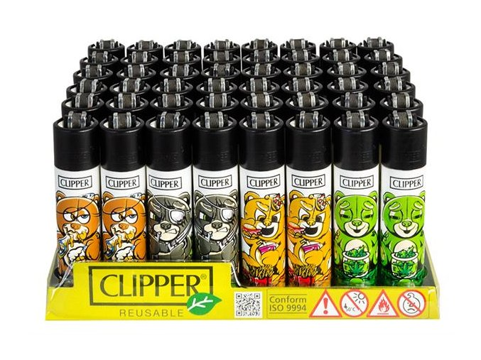Zapalovač CLIPPER ® CP11RH Bad Teddies