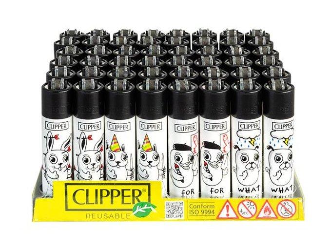 Zapalovač CLIPPER ® CP11RH Trouble Mascots